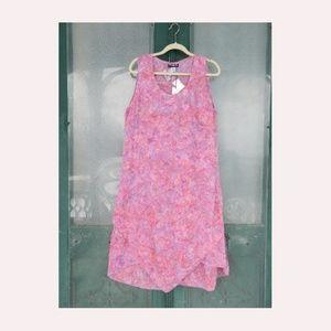 Maggie B Sleeveless Batik Dress
